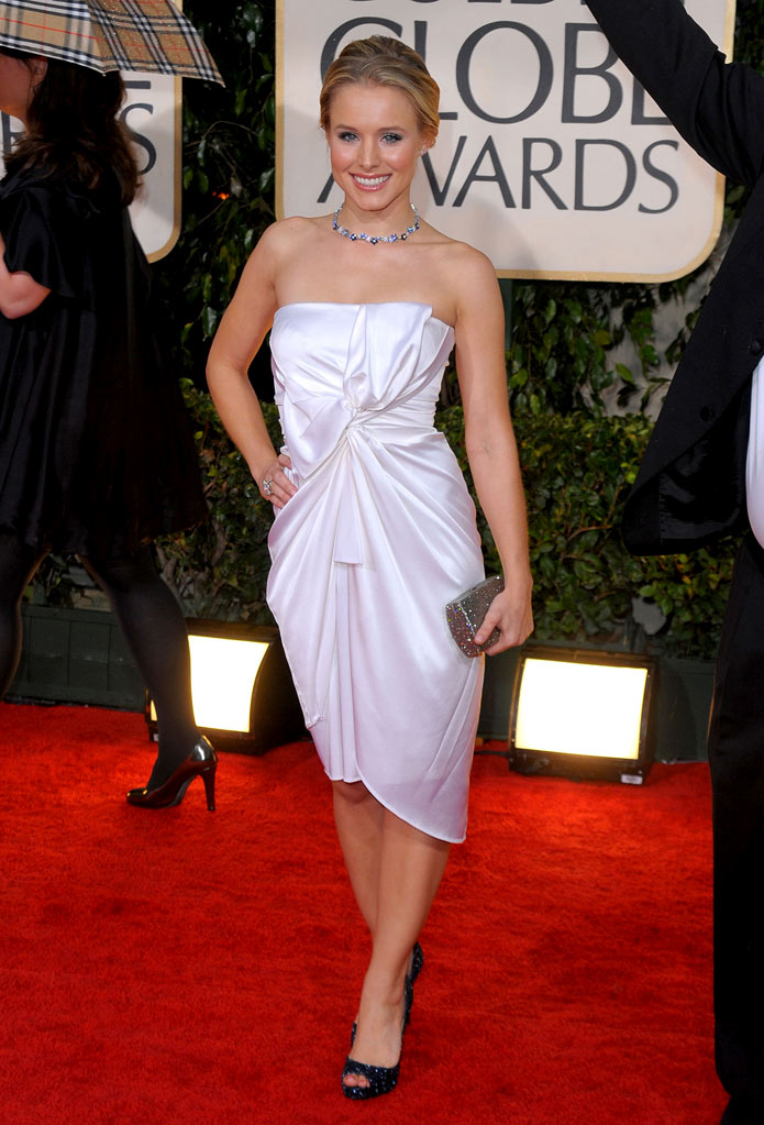 67th Annual Golden Globe Awards 2010 Kristen Bell