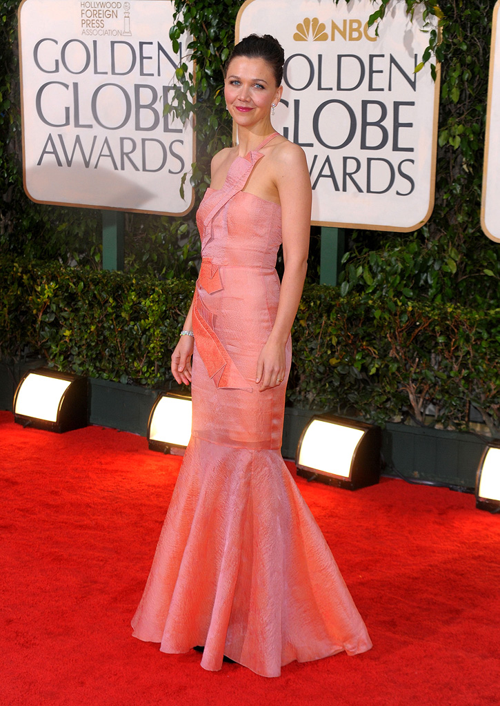 67th Annual Golden Globe Awards 2010 Maggie Gyllenhaal