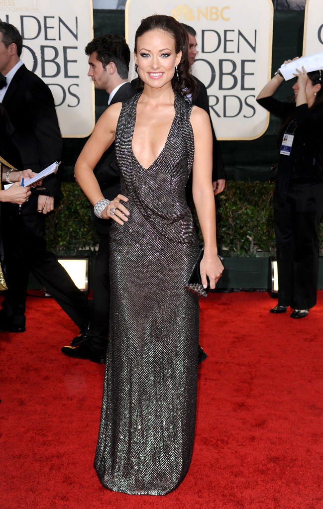67th Annual Golden Globe Awards 2010 Olivia Wilde