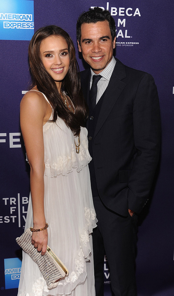 9th Annual Tribeca Film Festival 2010 Jessica Alba Cash Warren
