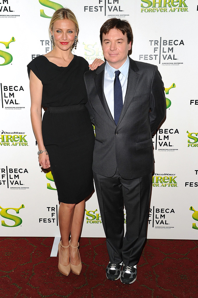 9th Annual Tribeca Film Festival Shrek Forever After Premiere 2010 Cameron Diaz Mike Myers