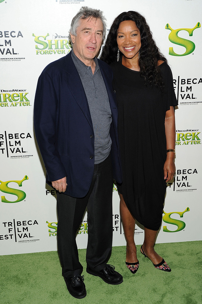 9th Annual Tribeca Film Festival Shrek Forever After Premiere 2010 Robert De Niro Grace Hightower