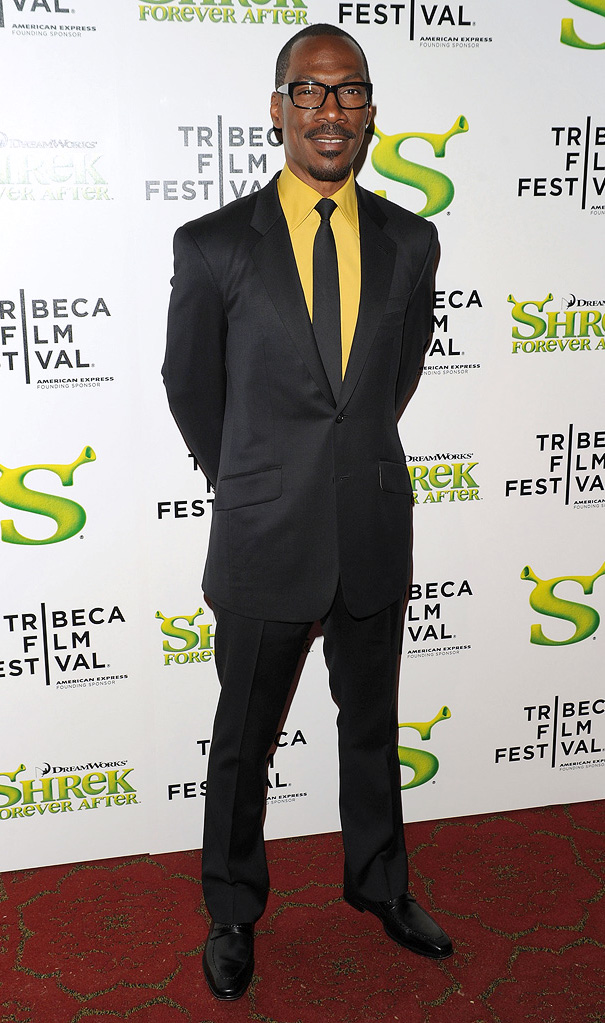 9th Annual Tribeca Film Festival Shrek Forever After Premiere 2010 Eddie Murphy