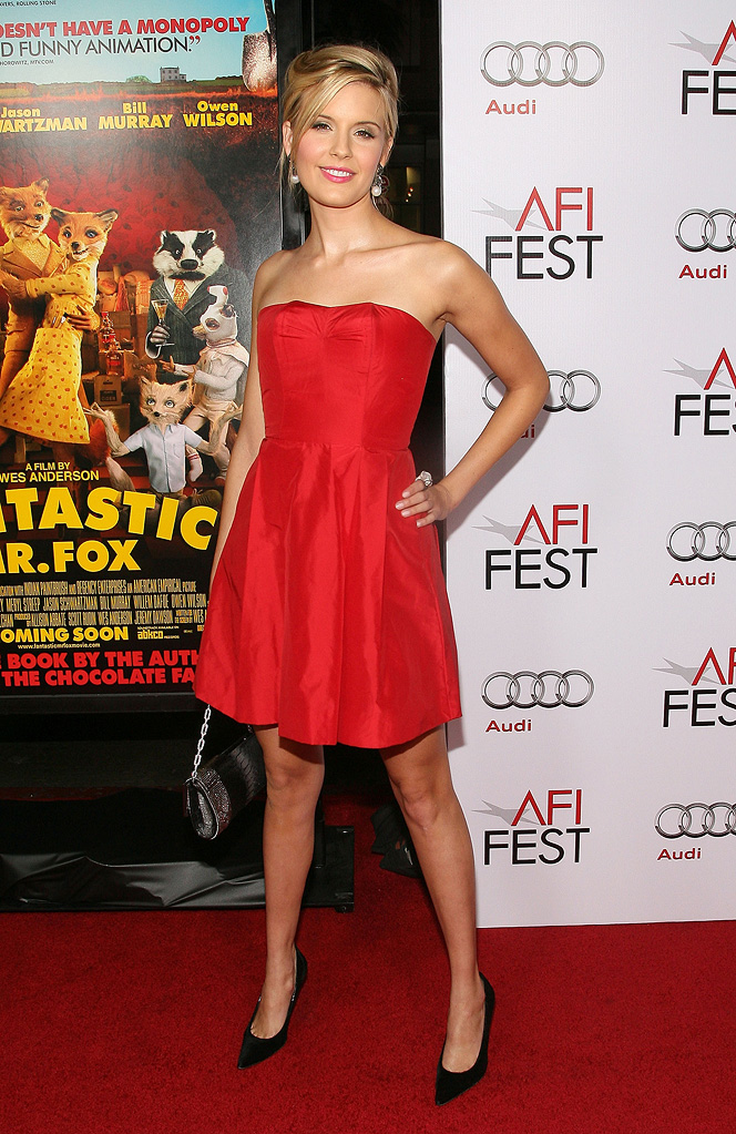 AFI Fest 2009 Fantastic Mr Fox Screening Maggie Grace