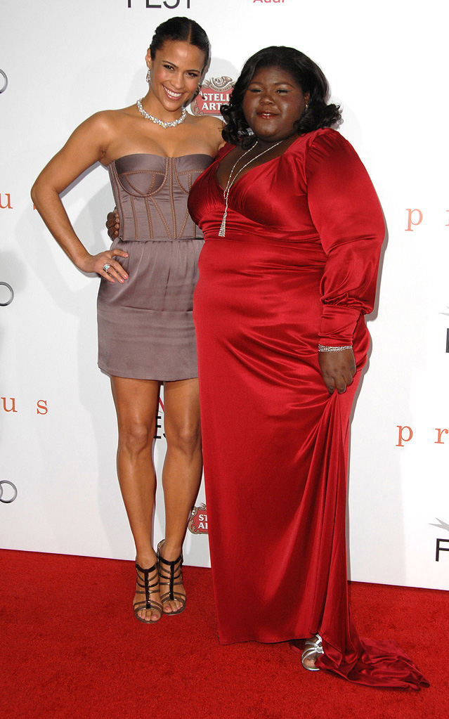 AFI Fest 2009 Precious Screening Paula Patton Gabourey Sidibe