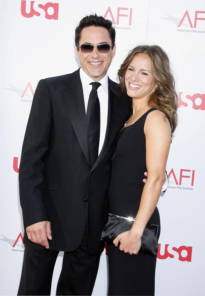 AFI Life Achievement Award 2008 Robert Downey Jr. Susan Downey