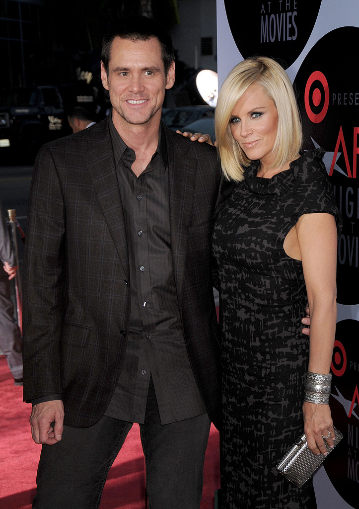 AFI's Night At The Movies 2008 Jim Carrey Jenny McCarthy