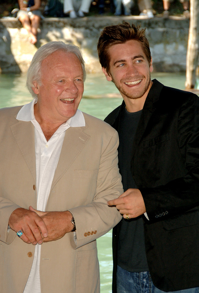Anthony Hopkins 2005 Jake Gyllenhaal