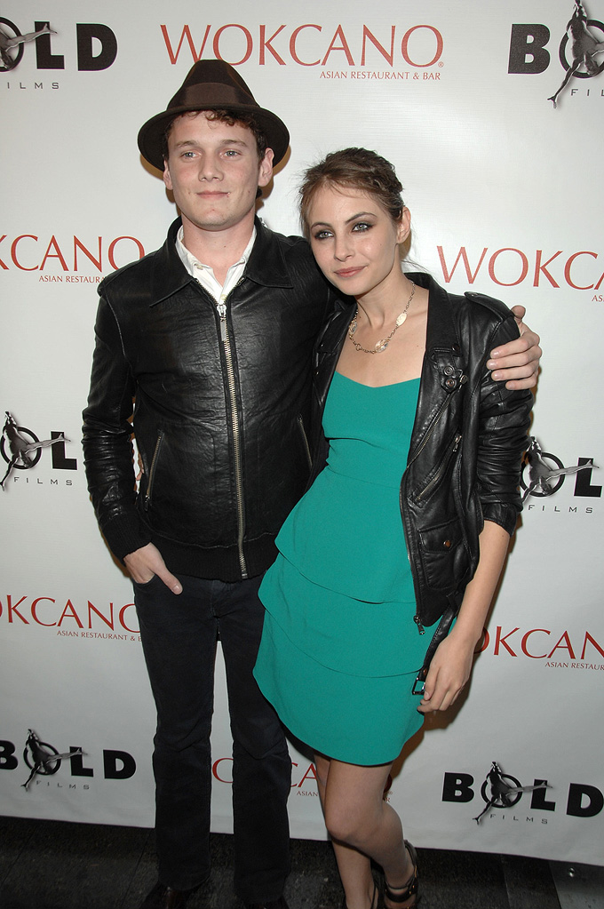 Anton Yelchin 2008 Willa Holland