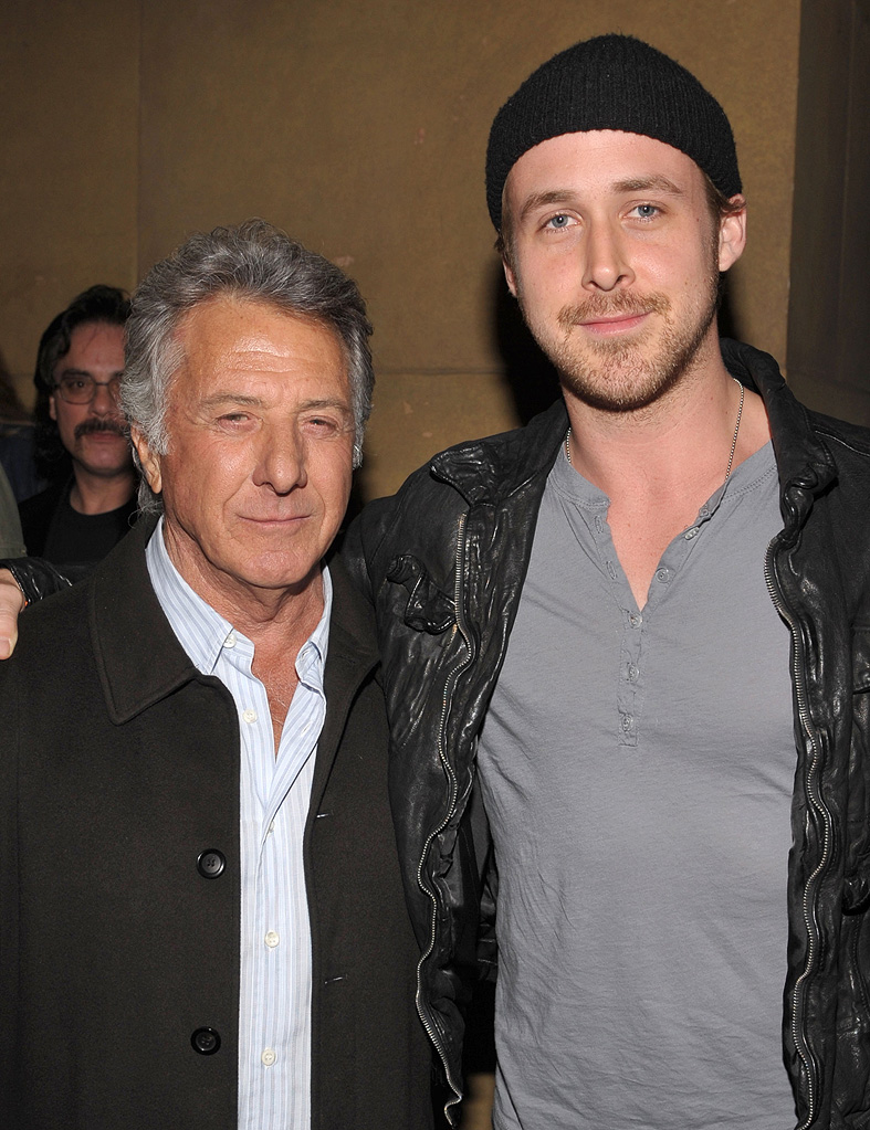 Anvil The Story of Anvil Premiere LA 2009 Dustin Hoffman Ryan Gosling