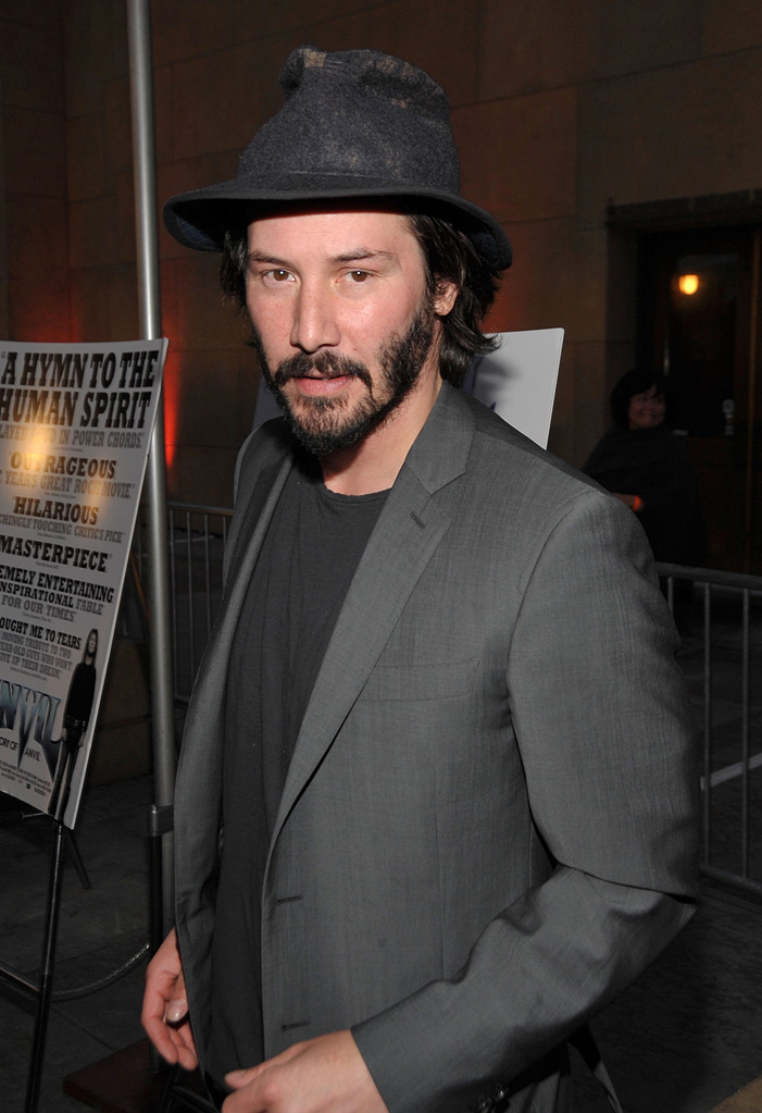 Anvil The Story of Anvil Premiere LA 2009 Keanu Reeves