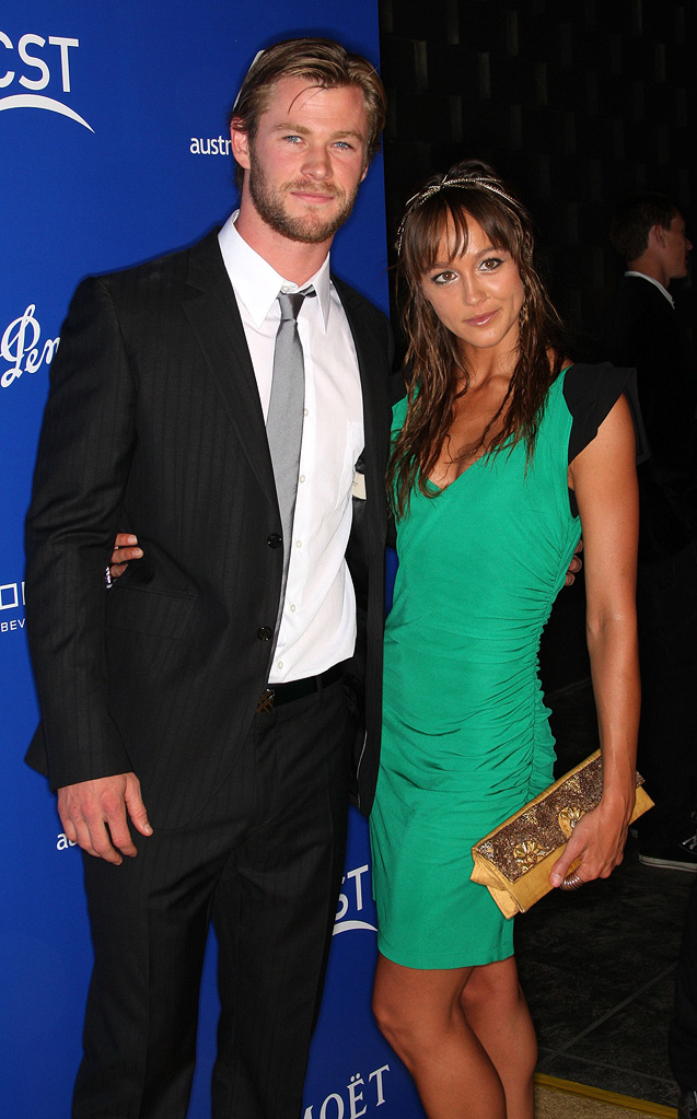 Australians In Film's 2010 Breakthrough Awards Chris Hemsworth Sharni Vinson