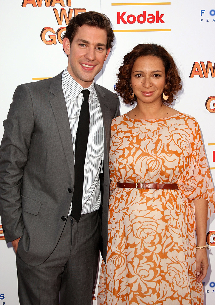 Away We Go NY Screening 2009 John Krasinski Maya Rudolph