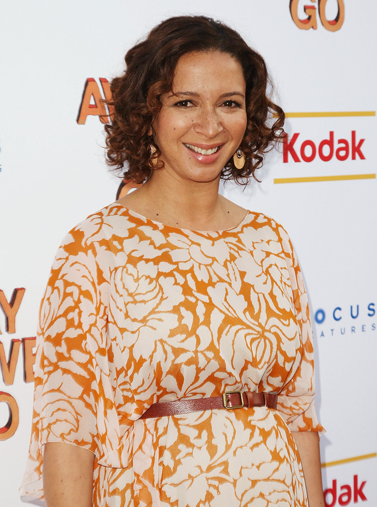 Away We Go NY Screening 2009 Maya Rudolph