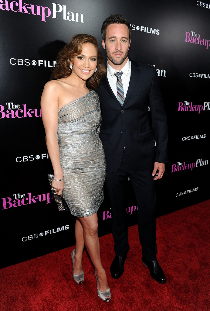 The Back up Plan LA premiere 2010 Jennifer Lopez Alex O Loughlin