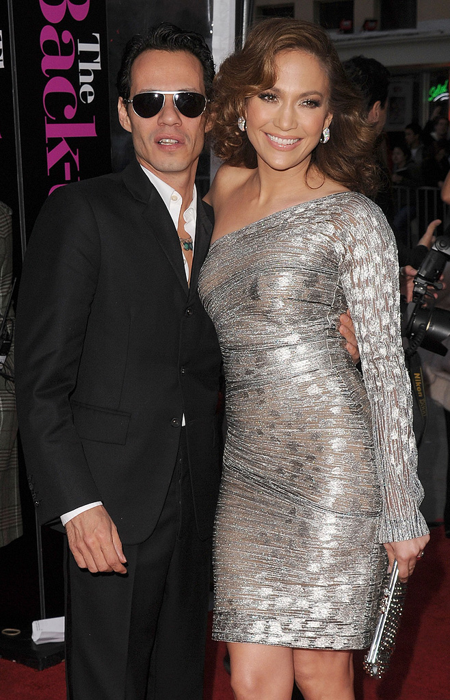 The Back up Plan LA premiere 2010 Marc Anthony Jennifer Lopez