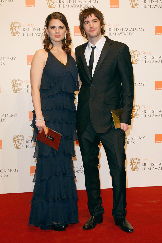 BAFTA Awards 2009 Hayley Atwell Jim Sturgess