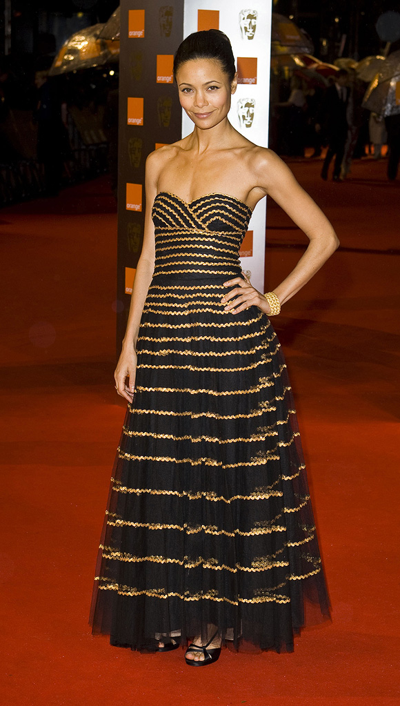BAFTA Awards 2009 Thandie Newton