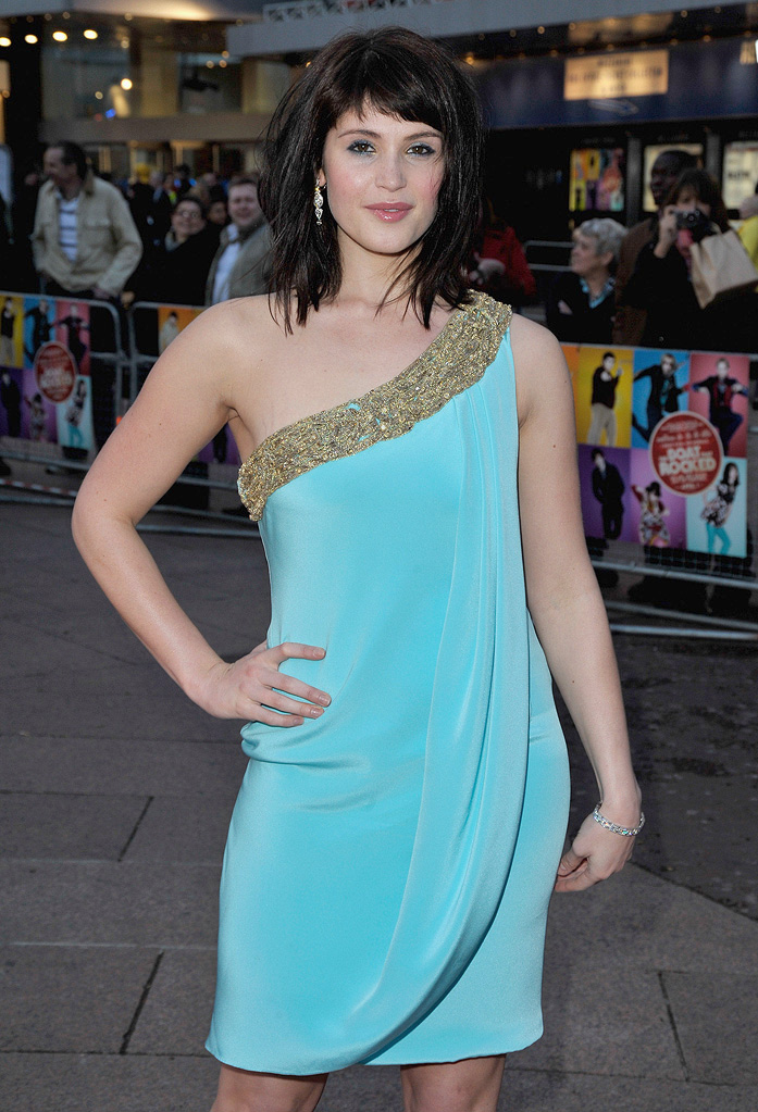 The Boat the Rocked UK Premiere 2009 Gemma Arterton