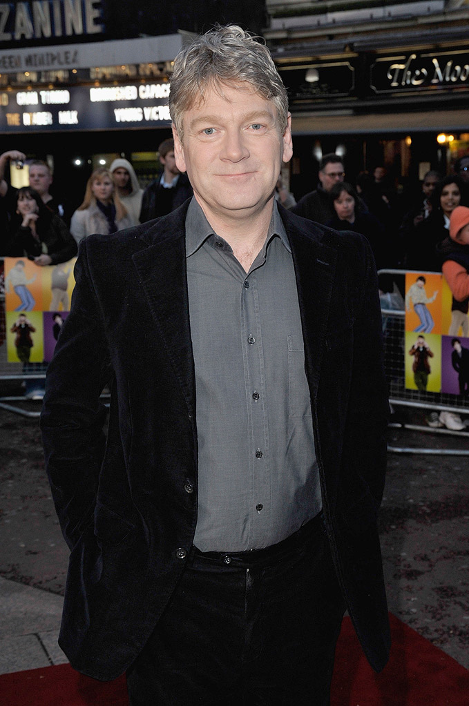 The Boat the Rocked UK Premiere 2009 Kenneth Branagh