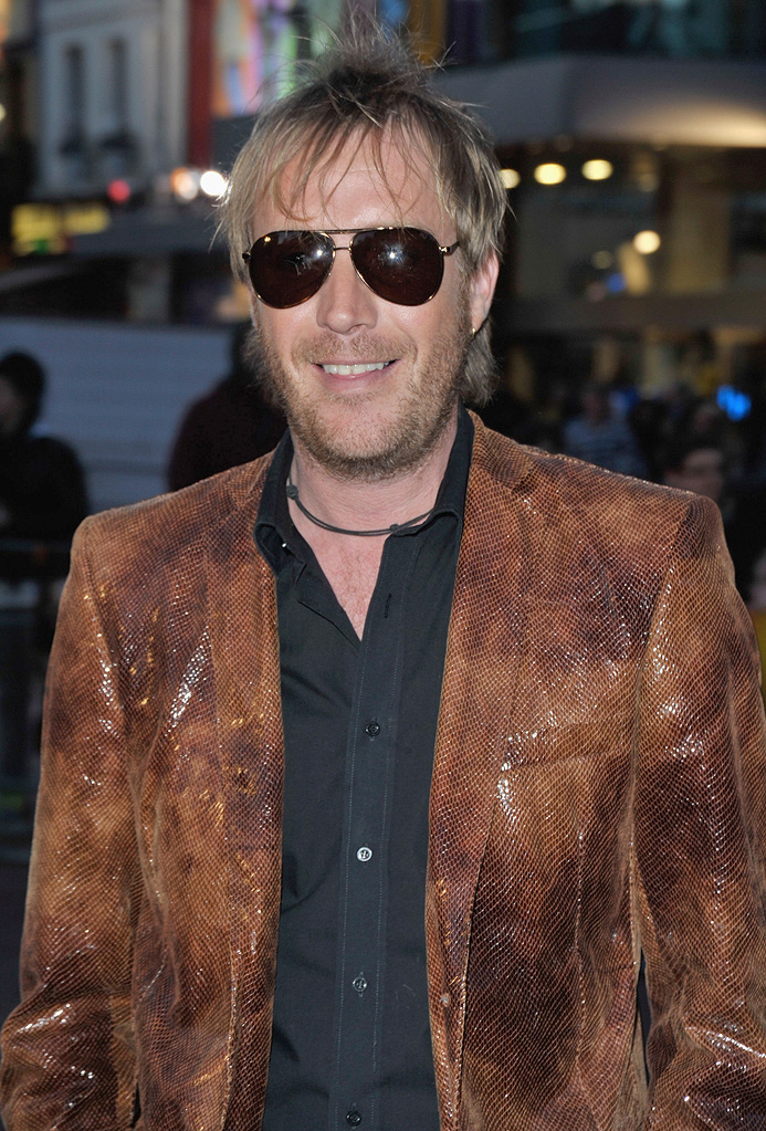 The Boat the Rocked UK Premiere 2009 Rhys Ifans