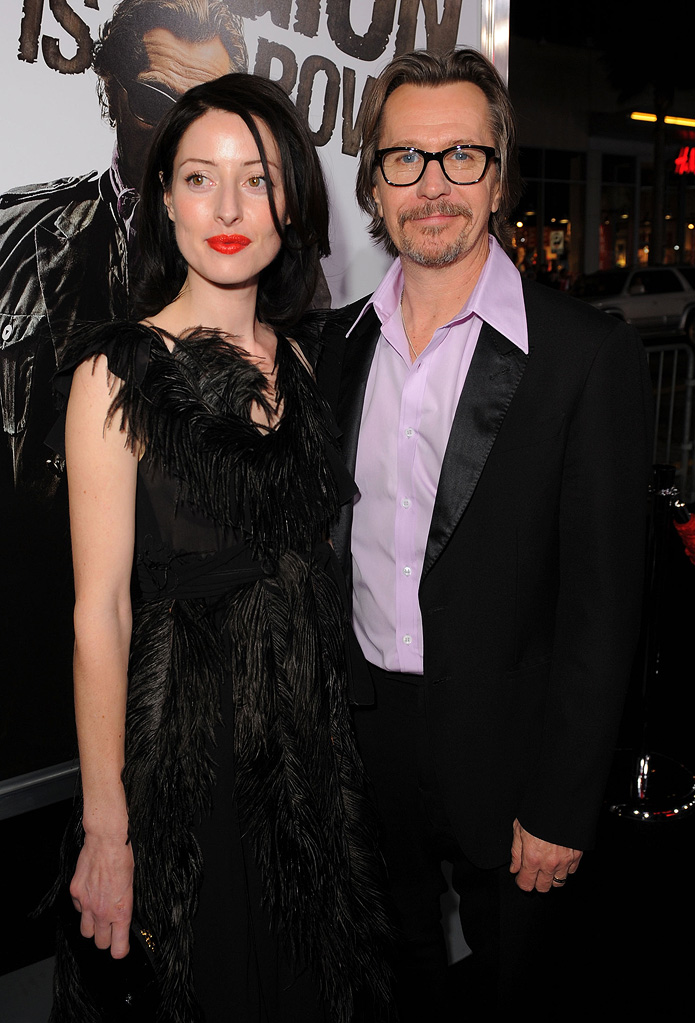 The Book of Eli LA Premiere 2010 Alexandra Edenborough Gary Oldman