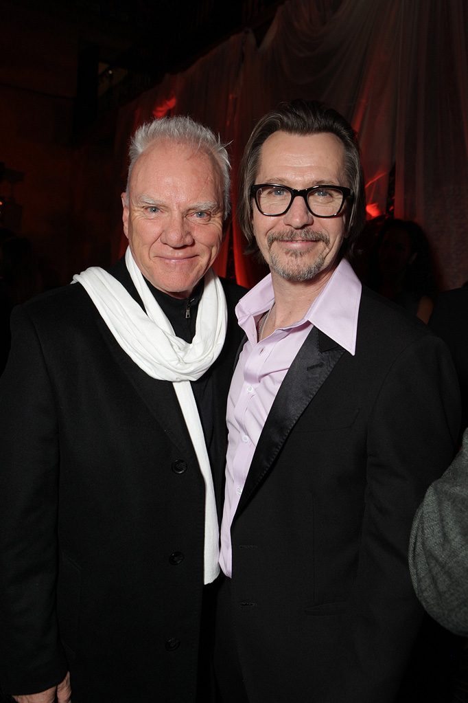 The Book of Eli LA premiere 2010 Malcolm McDowell Gary Oldman