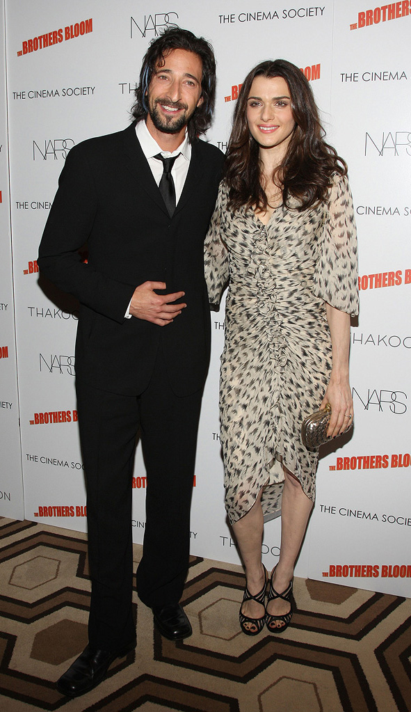 The Brothers Bloom NY Screening 2009 Adrien Brody Rachel Weisz