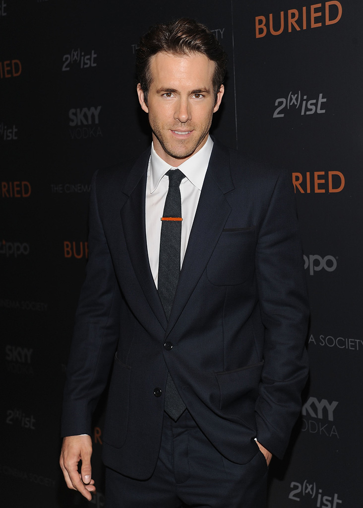 Buried NY Screening 2010 Ryan Reynolds