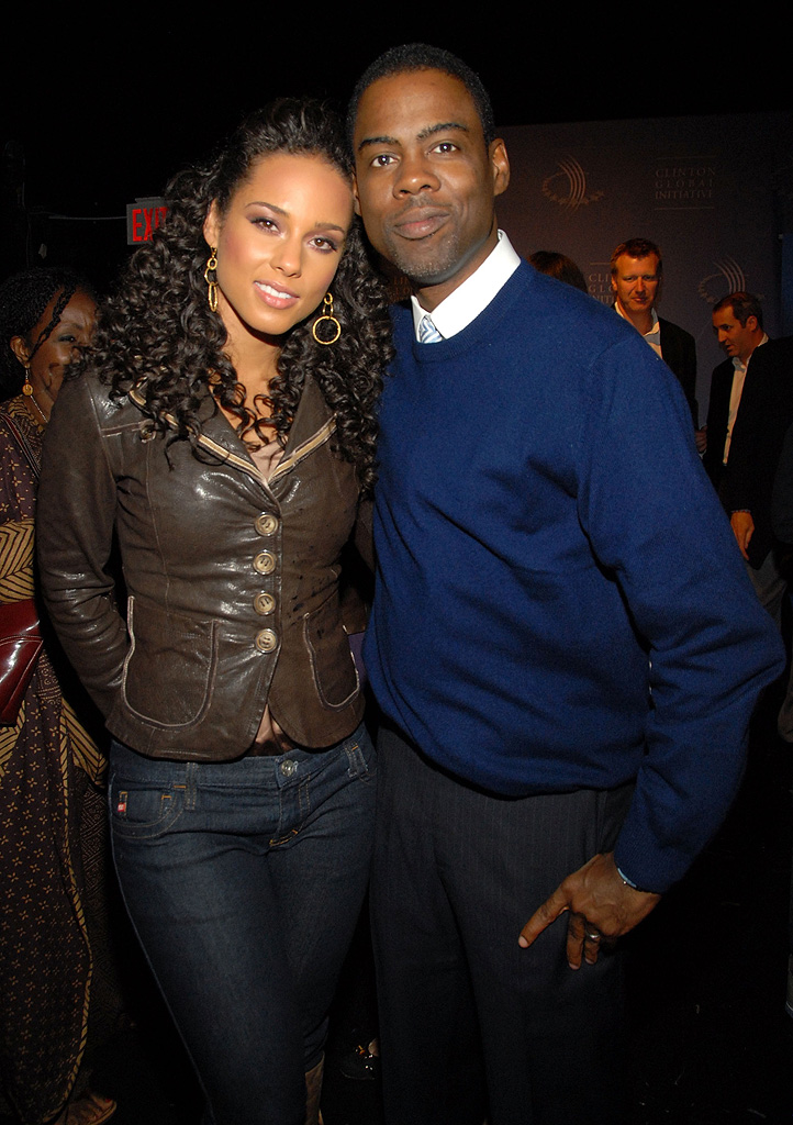 Chris Rock Alicia Keys 2007