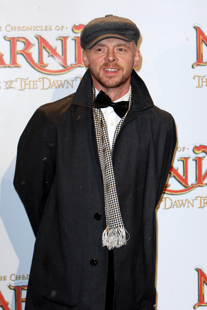 The Chronicles of Narnia The Voyage of the Dawn Treader 2010 UK Premiere Simon Pegg