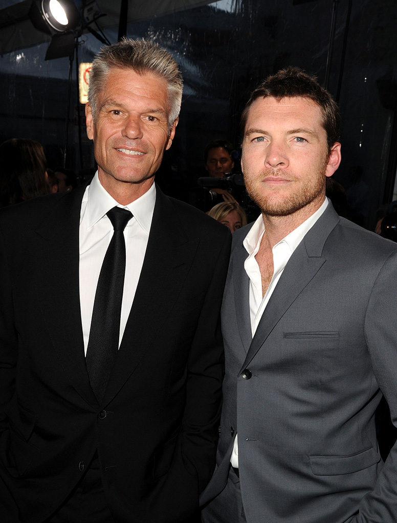 Clash of the Titans LA Premiere 2010 Harry Hamlin Sam Worthington