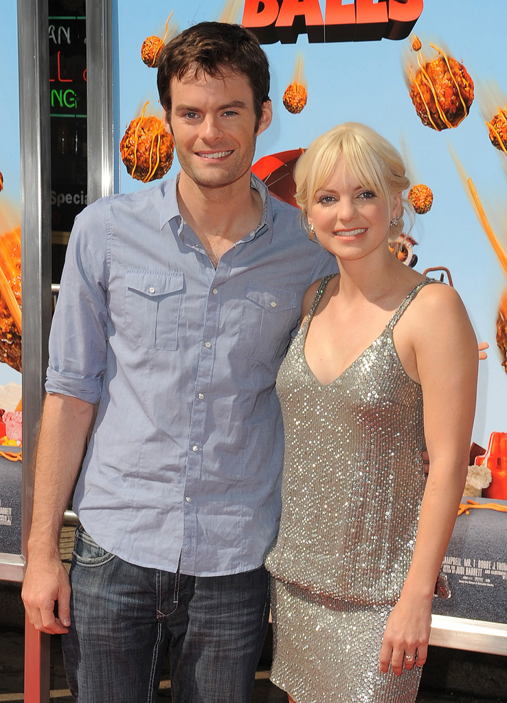 Cloudy With A Chance of Meatballs LA Premiere 2009 Bill Hader Anna Faris