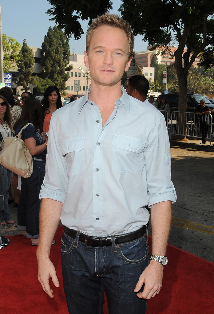 Cloudy With A Chance of Meatballs LA Premiere 2009 Neil Patrick Harris
