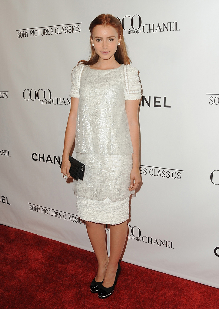 Coco Before Chanel LA Premiere 2009 Lily Collins