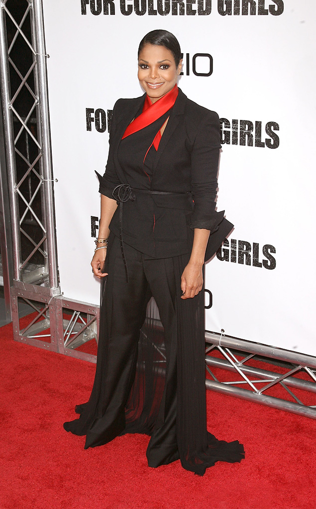 For Colored Girls NY Premiere 2010 Janet Jackson
