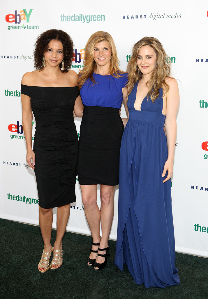Connie Britton 2009 Gloria Reuben Alicia Silverstone