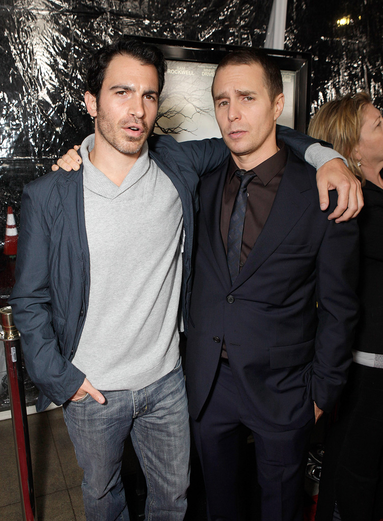 Conviction LA Premiere 2010 Chris Messina Sam Rockwell