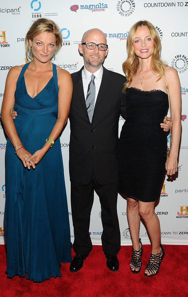 Countdown to Zero NY Premiere 2010 Lucy Walker Moby Heather Graham