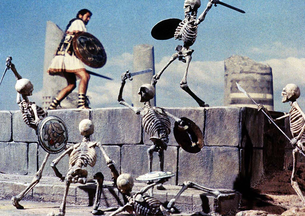 Ray Harryhausen's work in 'Jason and the Argonauts'