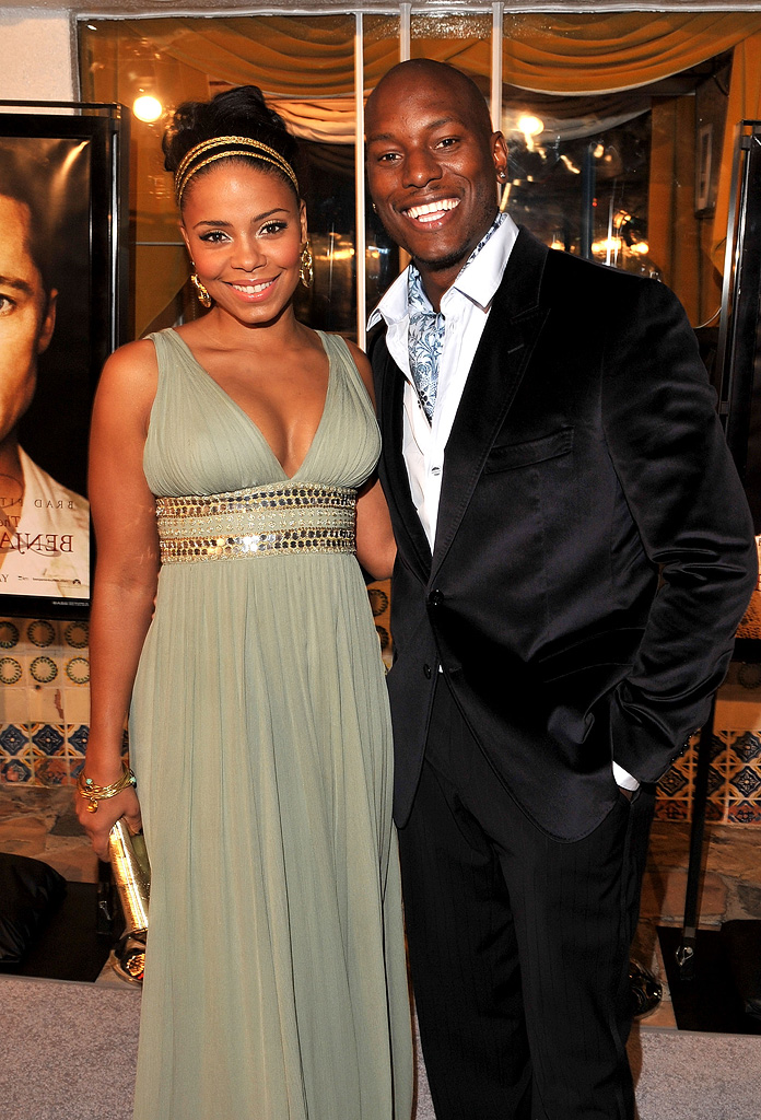 The Curious Case of Benjamin Button Premiere LA 2008 Sanaa Lathan Tyrese Gibson