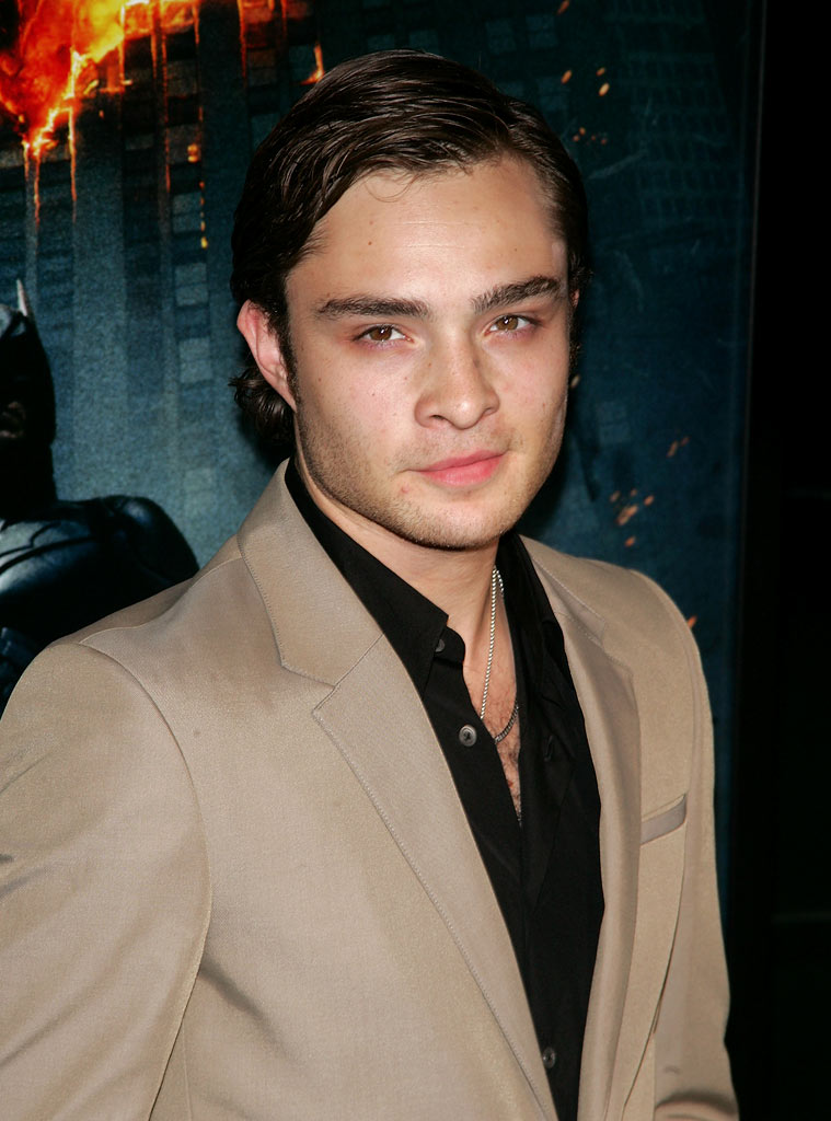 Dark Knight New York 2008 Premiere Ed Westwick