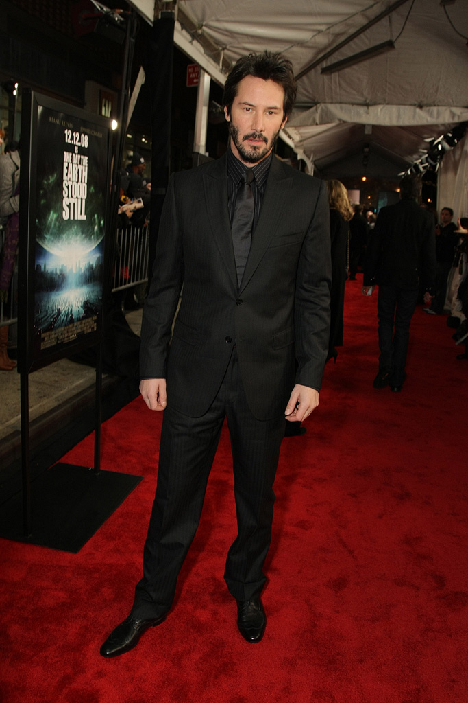 The Day the Earth Stood Still NY Premiere 2008 Keanu Reeves