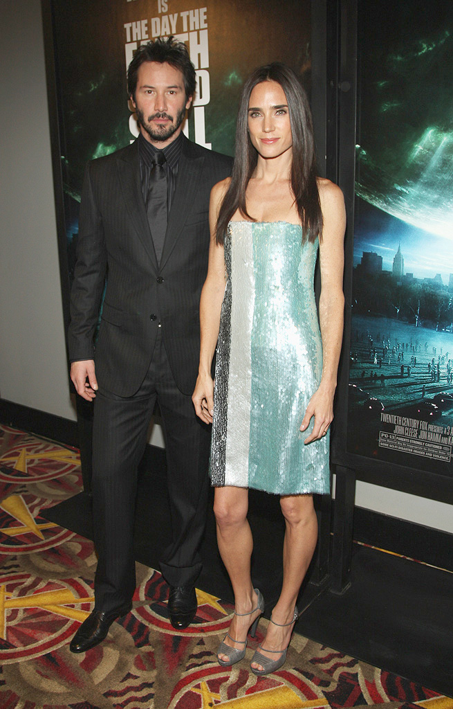 The Day the Earth Stood Still NY Premiere 2008 Keanu Reeves Jennifer Connelly