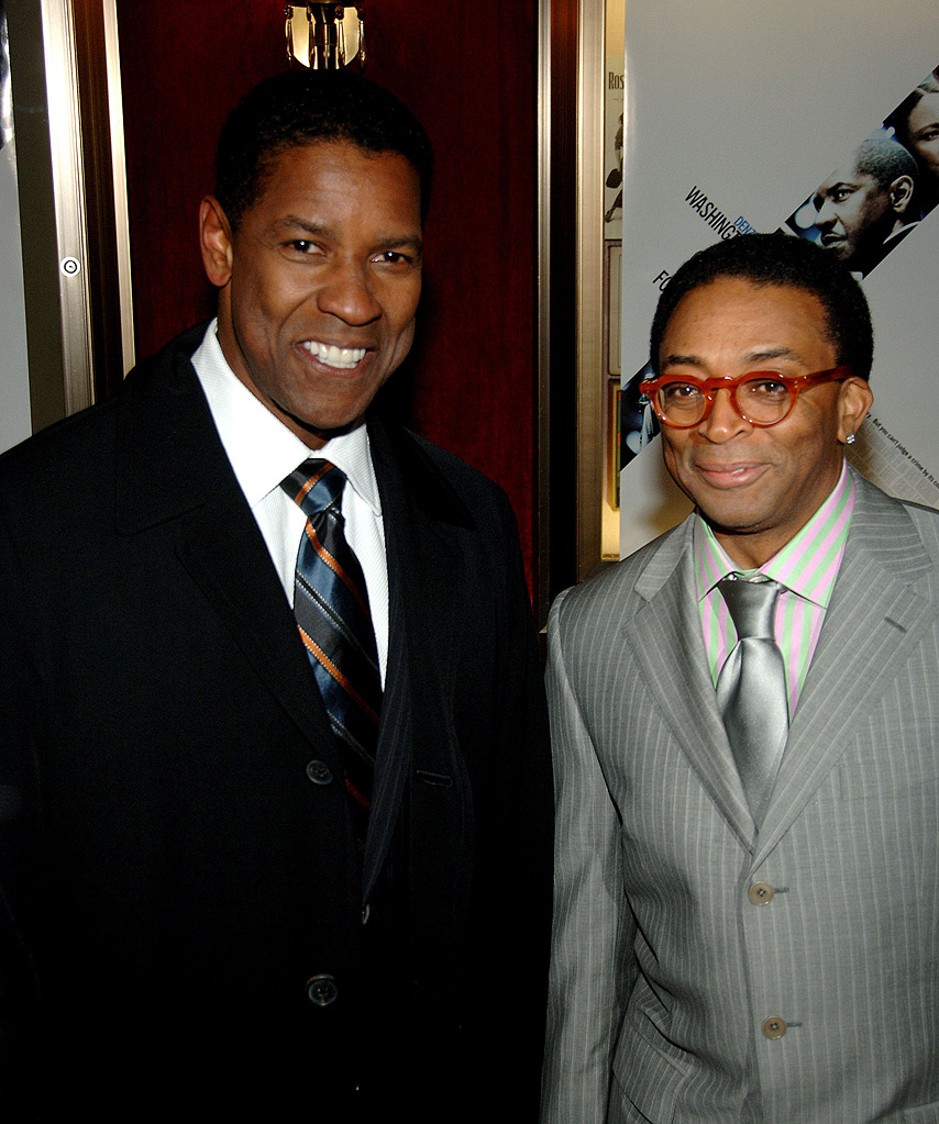 Denzel Washington Spike Lee 2006