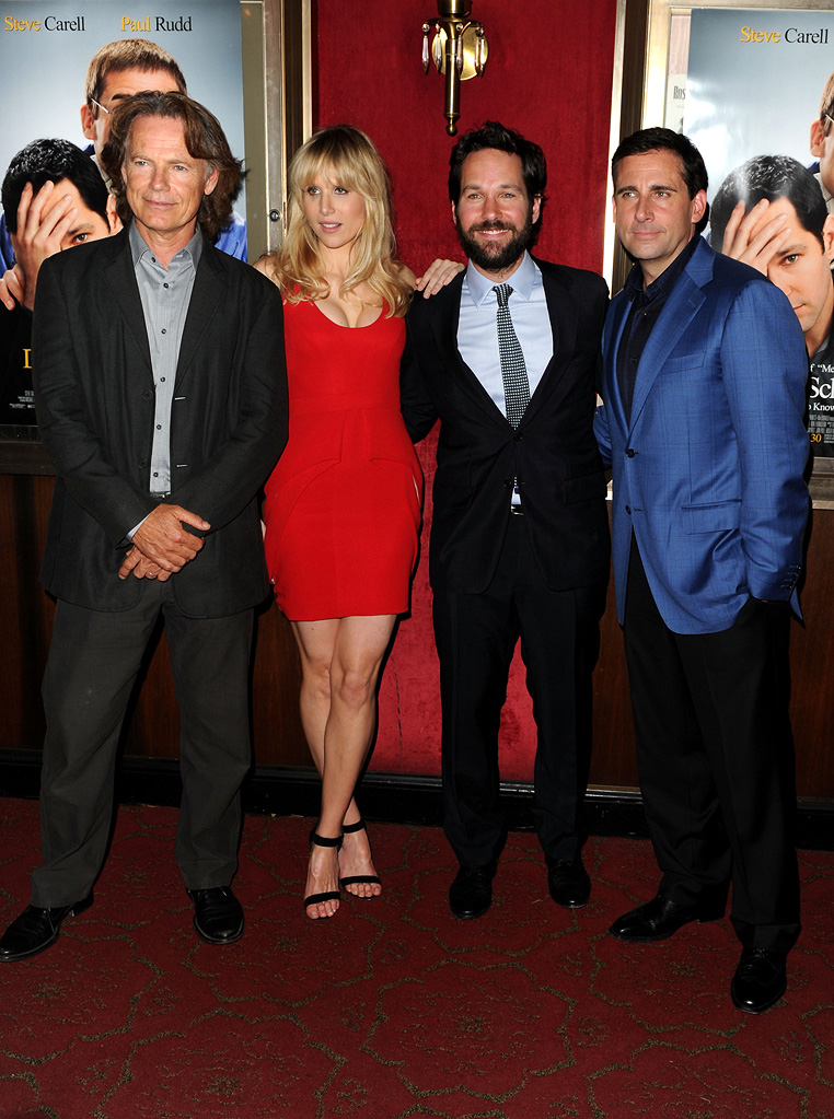 Dinner for Schmucks NY Premiere 2010 Bruce Greenwood Lucy Punch Paul Rudd Steve Carell