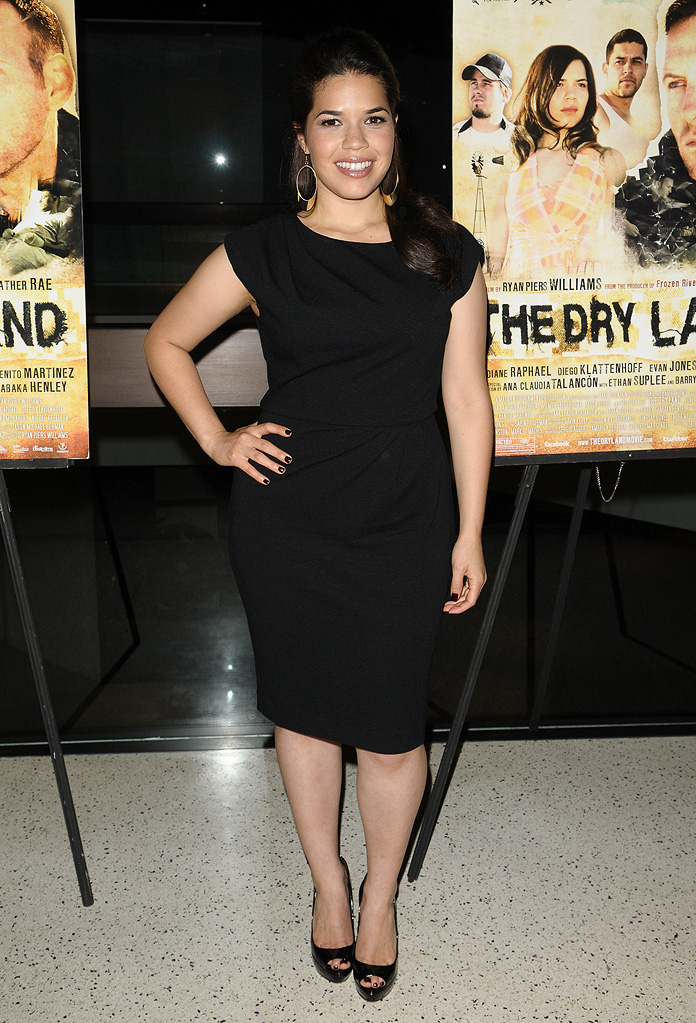 The Dry Land LA Premiere 2010 America Ferrera