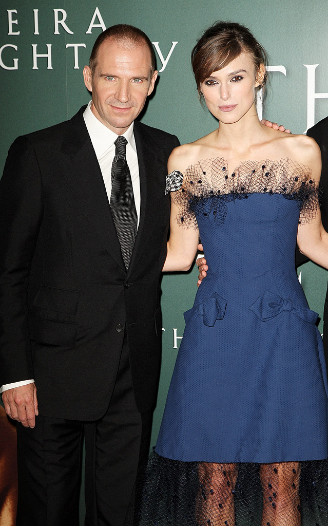 The Duchess UK Premiere 2008 Ralph Fiennes Keira Knightley