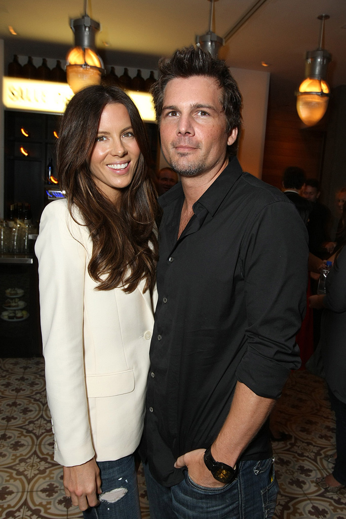 Eagle Eye LA Premiere 2008 Kate Beckinsale Len Wiseman