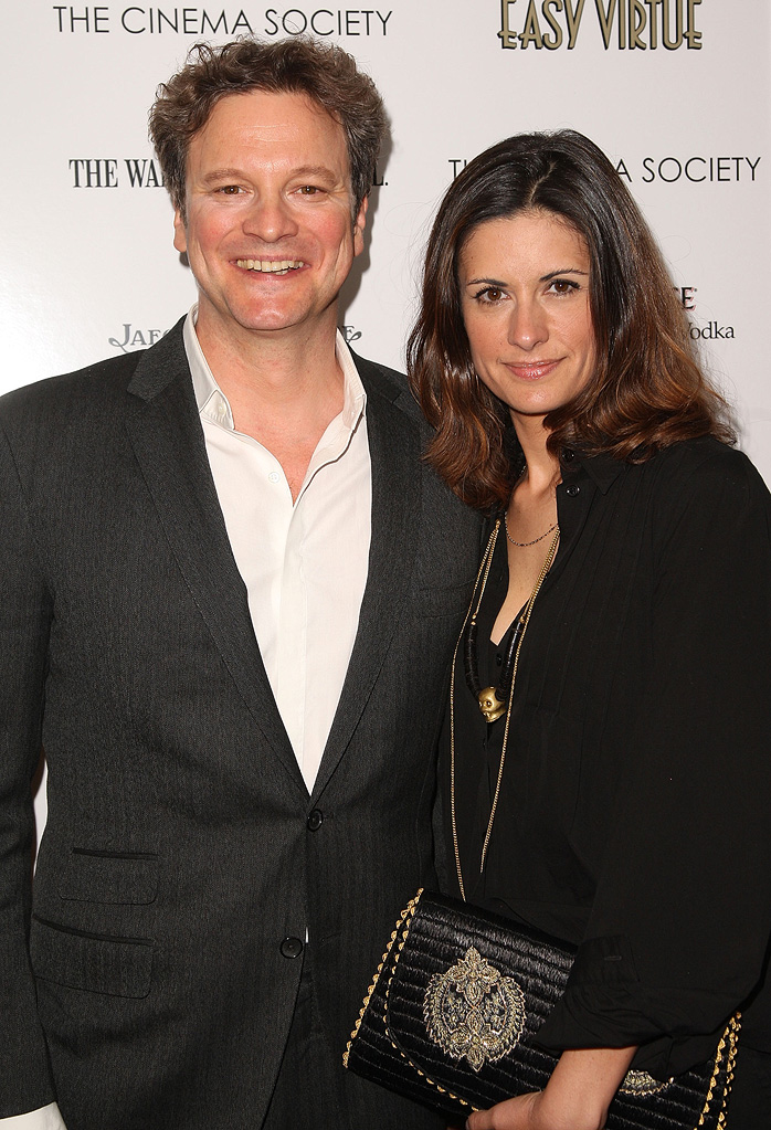 Easy Virtue NY Screening 2009 Colin Firth